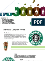 Starbucks Corporation Strategy Analysis