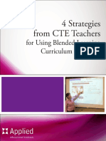 4 Strategies From Cte Teachers for Using Blended Learning Curriculum Resources
