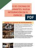 Tema 2.1 Diseño de Cocinas de Restaurantes