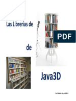 Java 3D Modulo 03 Descripción de las Librerias.