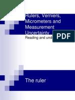 Verniers Micrometers and Measurement Uncertainty and Digital2