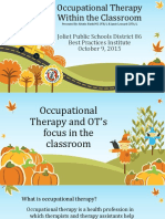 OT Services in Classroom Presentation