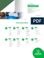Plan de Estudio Fisiterapia