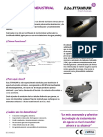 Folleto h2o.titanium Industrial