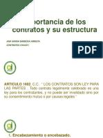 Presentación Estructura Del Contrato