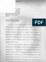 Perspective on Court of Appeals G.R. CR HC No. 00336 Vizconde Massacre with Highlights on Dissenting Opinions of Justices Renato Dacudao and Lucenito Tagle