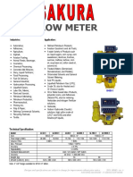 Flow meter catalogue