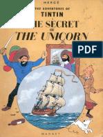11 Tintin and the Secret of the Unicorn