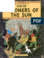 14 Tintin and the Prisonres of Sun