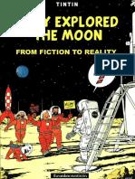 29 Tintin They Explored the Moon