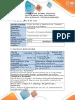 Guía de actividades y rúbrica de evaluación - Paso 3 - Realizar la segmentación del mercado y el planteamiento del mercado objetivo.docx