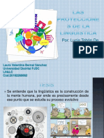 proyecciones lingüística  LHYLC
