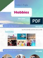 Conversation about Hobbies