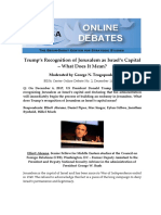 2 Jerusalem Online Debate FINAL
