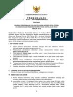 Pengumuman Seleksi Penerimaan CPNS Provinsi Kepri 2018 Dan Ralat