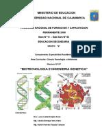 VII UNIDAD - Biotecnologia e Ingenieria Genetica - Grupo B