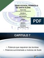 Exposicion Potencia y Eficiencia en Bombas