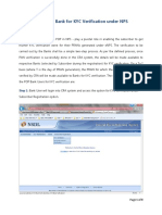 User Manual for Banks Under ENPS
