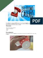 TELEFONO CASERO