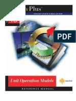 Unit Operation Models