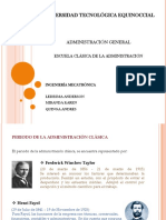 Presentación Administracion general