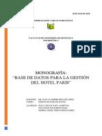 Monografía Del Proyecto Db