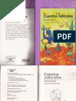 Cuentos Ridículos de Ricardo Mariño