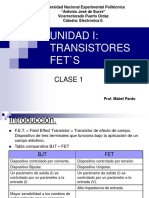 Transistores Fets - Prof. Mabel Pardo