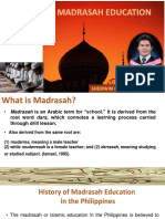 Education and Development Report Madrasah