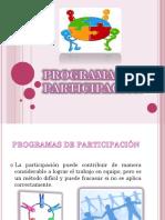 Programas de Participacion