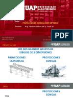 Dibujo Arquitectonico 3 Proyecciones Conicascon Metodo