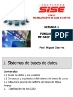 SEMANA 1 Fundamentos de Base Datos
