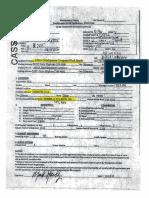 Complaint Identity Sheets