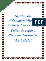 Taller de repaso Ciencias Naturales 6°-7°-8° La Celula.docx