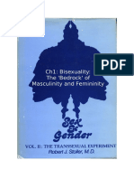 Stoller Ch1 - The Transsexual Experiment - Chapter 1 Bisexuality