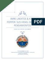 Lakatos y Popper - Ensayo