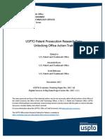 USPTO Patent Prosecution Research Data