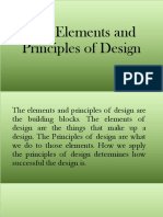The Principles and Elements of Design