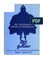 Stoller Ch5 - The Transsexual Experiment - Chapter 5 The Bisexual Identity of Transsexuals