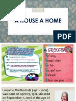 A HOUSE A HOME.pptx