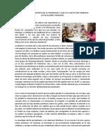 Ensayo de La Educación en El Perú
