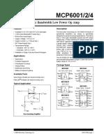 MCP6002 Microchip Technology