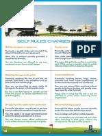 Golf Rules - 2019