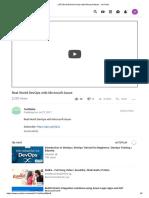 (197) Real World DevOps With Microsoft Azure - YouTube