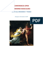 Mito Ariadna y Teseo