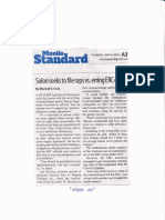 Manila Standard, May 9, 2019, Solon seeks to file raps vs erring ERC execs.pdf