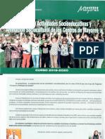 PERSONAS MAYORES | Programa de Actividades Soocioeducativas y Animación Sociocultural de los Centros de Mayores