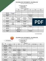 Practical Time Table (BTech & BCA), MCA_June 2019