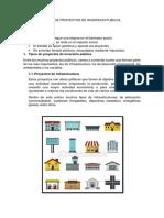 Tipos de Proyectos de Inversion Publica