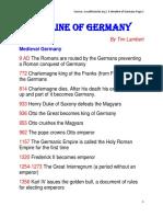 A Timeline of Germany